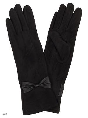 Перчатки UFUS. Цвет: черный