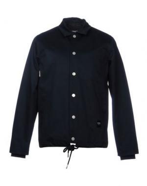 Куртка WEMOTO. Цвет: темно-синий
