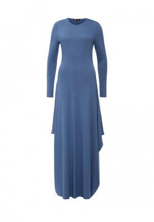 Платье Sahera Rahmani. Цвет: голубой