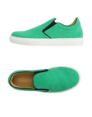 Низкие кеды и кроссовки MR.HARE. Цвет: зеленый