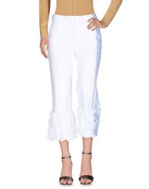 Повседневные брюки ROSIE ASSOULIN. Цвет: белый