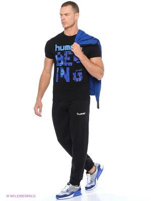 Спортивные брюки ROOTS COTTON PANTS HUMMEL. Цвет: черный