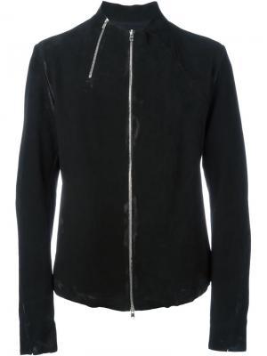 Байкерская куртка с двойной застежкой-молнией Lost & Found Ria Dunn. Цвет: чёрный