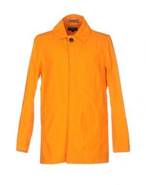 Легкое пальто GLOVERALL. Цвет: оранжевый