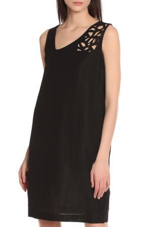 Изящное повседневное платье Oblique. Цвет: черный