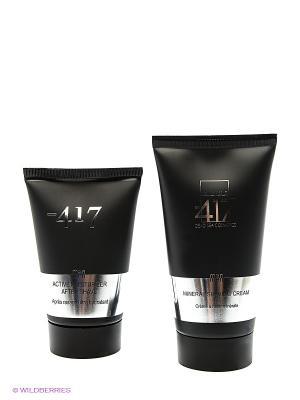 Косметический набор мужской Minus 417. Цвет: черный