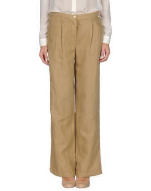 Повседневные брюки SCHIESSER. Цвет: песочный