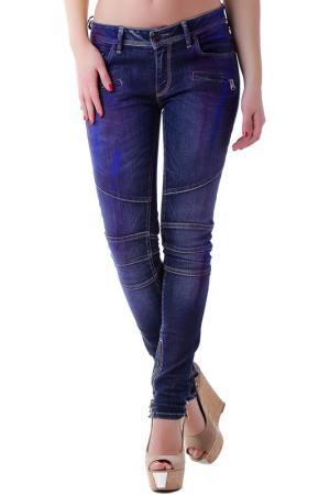 Джинсы BRAY STEVE ALAN. Цвет: blue purple