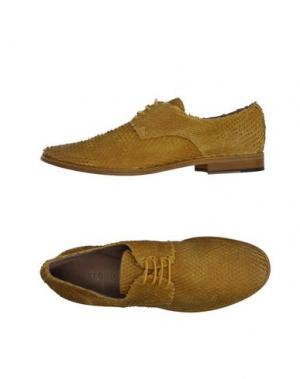 Обувь на шнурках WEXFORD. Цвет: охра
