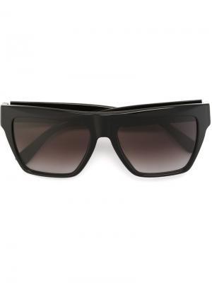 Солнцезащитные очки MCM. Цвет: чёрный