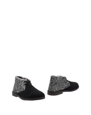 Полусапоги и высокие ботинки SGN GIANCARLO PAOLI. Цвет: темно-синий