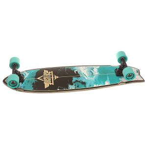 Скейт круизер  Kosher Cruiser Turquoise 9.5 x 33 (84 см) Dusters. Цвет: голубой,черный