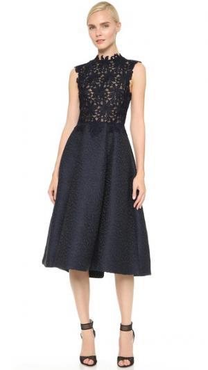 Платье Daisy с лифом Monique Lhuillier. Цвет: ночное небо