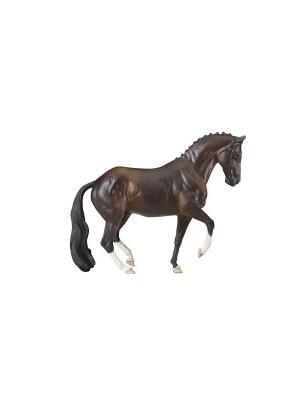 Конь Валегро-новинка серии Stablemates Breyer. Цвет: темно-коричневый