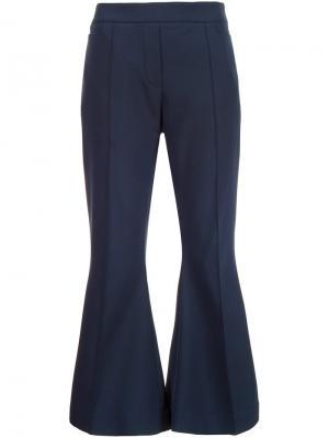 Укороченные расклешенные брюки Ellery. Цвет: синий