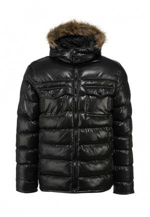 Куртка утепленная Brave Soul. Цвет: черный