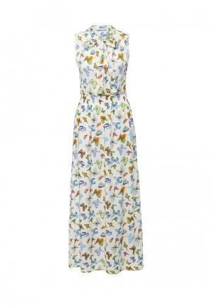 Платье MammySize. Цвет: белый