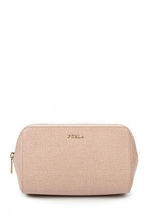 Косметичка Furla. Цвет: розовый