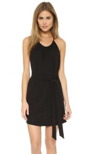 Платье с плетеной спинкой Rory Beca. Цвет: оникс