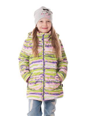 Куртка NIKASTYLE. Цвет: лиловый