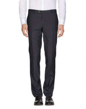 Повседневные брюки PAOLONI. Цвет: свинцово-серый