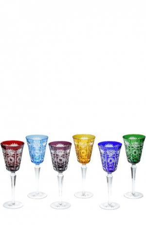 Набор evitch из 6-ти фужеров для вина Tsar. Цвет: бесцветный