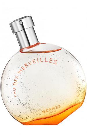 Туалетная вода Eau des Merveilles Hermès. Цвет: бесцветный