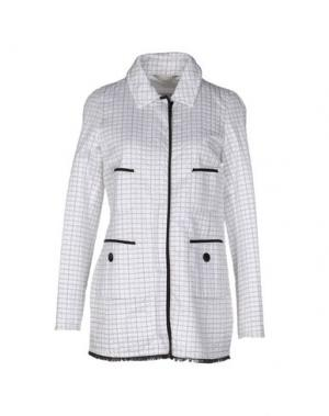 Легкое пальто GEOSPIRIT. Цвет: белый