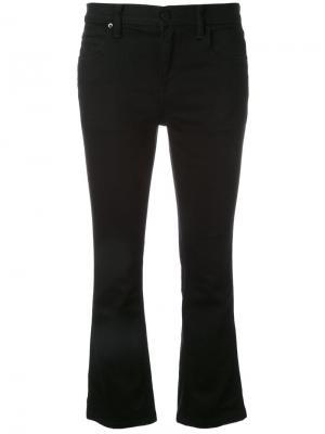 Укороченные джинсы Alexander Wang. Цвет: чёрный