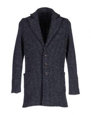 Пальто VNECK. Цвет: темно-синий