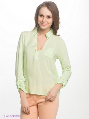 Блузка LERROS. Цвет: салатовый