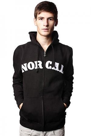 Толстовка  Nautical Applique Black Nor Cal. Цвет: черный
