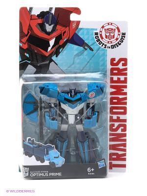 Трансформеры: Робот под прикрытием Hasbro. Цвет: голубой, белый, черный