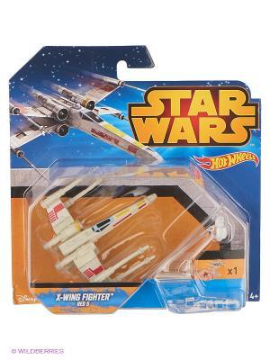 Hot Wheels Star Wars Ассортимент Звездных кораблей SW. Цвет: серый, красный, черный