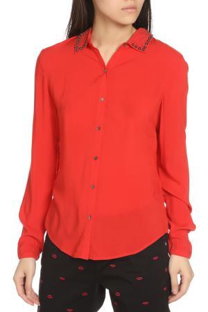 Рубашка Scotch&Soda. Цвет: red, красный