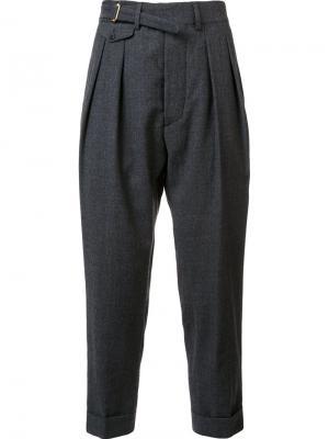 Tailored trousers Wooster + Lardini. Цвет: серый