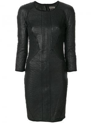 Платье Uria Tony Cohen. Цвет: чёрный
