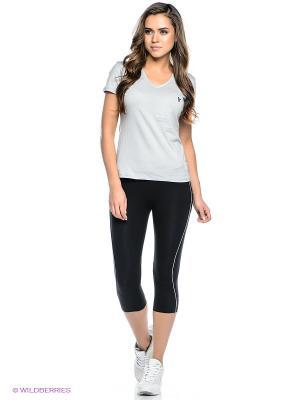 Комплект брюки WR.UP SHAPING EFFECT, футболка Freddy. Цвет: светло-серый, черный