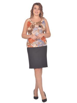 Топ Томилочка Мода ТМ. Цвет: бежевый, оранжевый, персиковый