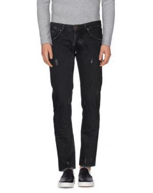 Джинсовые брюки MACCHIA J. Цвет: черный