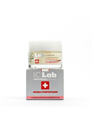 Маска суперпитание I.C.Lab Individual cosmetic. Цвет: серебристый, белый, красный