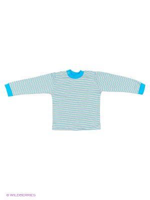 Кофта Русь. Цвет: голубой, серый