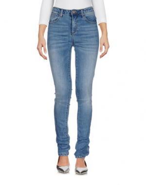 Джинсовые брюки SISTERS POINT. Цвет: синий