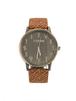 Часы наручные Feifan. Серия Astral Feifan. Цвет: коричневый