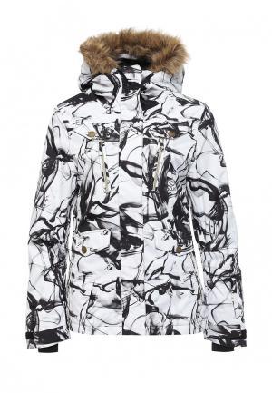 Куртка горнолыжная Rip Curl. Цвет: черно-белый
