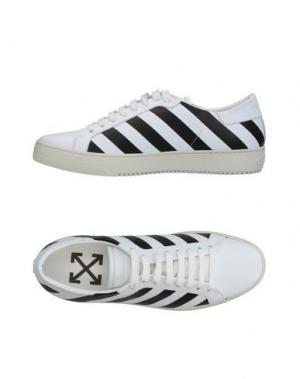 Низкие кеды и кроссовки OFF-WHITE™. Цвет: белый