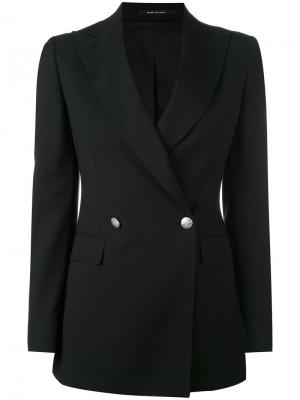J-Smart blazer Tagliatore. Цвет: чёрный