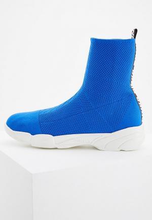 Кроссовки Pinko. Цвет: синий