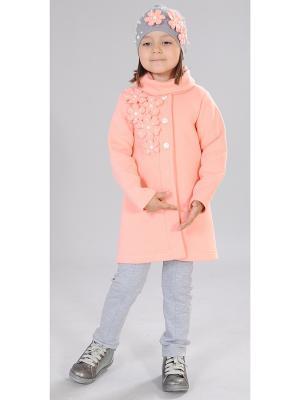 Пальто Fleur de Vie. Цвет: персиковый