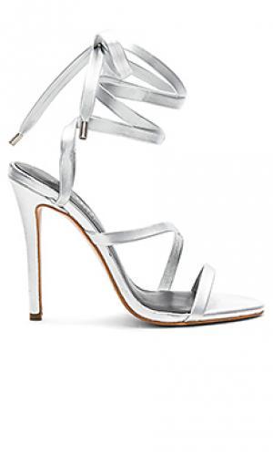 Обувь на каблуке diversion The Mode Collective. Цвет: металлический серебряный
